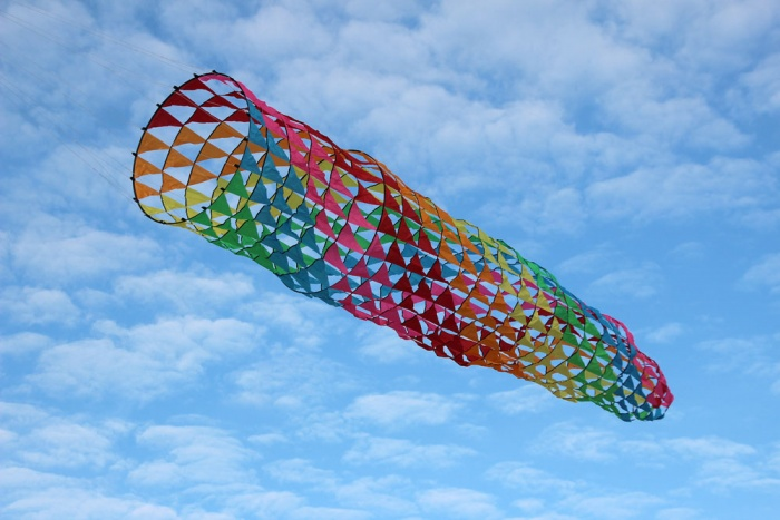 Mesh Spinning Tube rainbow