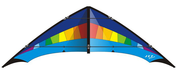 Jet Stream Reloaded blue/rainbow