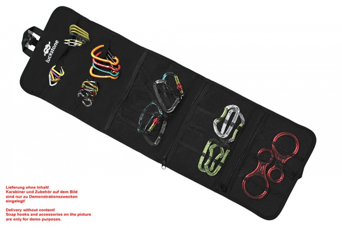 Karabiner-Tasche schwarz