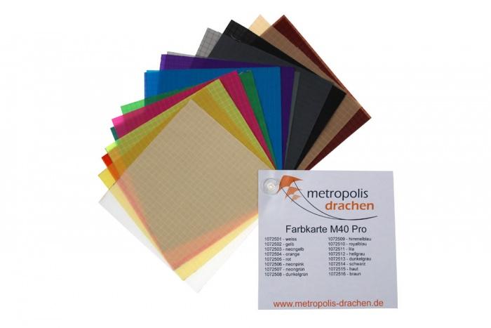 "Colour sample card ""M-40 Pro"""
