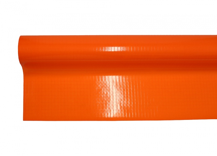Mylar laminate fluor orange