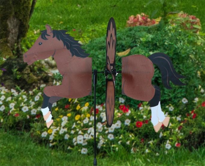 Petite windmill bay horse