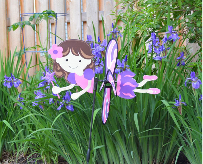 Petite windmill pink fairy