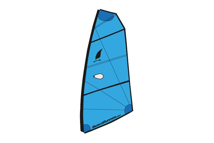Sail 2.1m² Sky