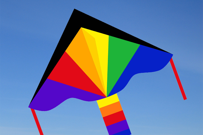 Simple Flyer 120 Rainbow