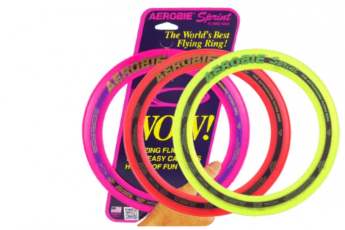 Aerobie Sprint Ring gelb