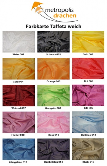 "Nylon Taffeta ""smooth"" orange - 005"