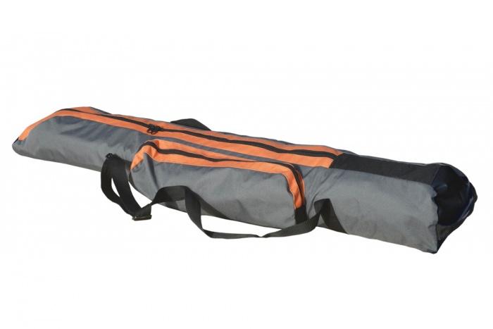 Spiderkites Kite Bag 130cm length, orange-grey