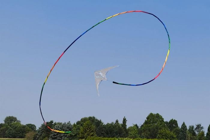 Tube Tail Rainbow Spiral