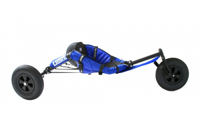 Buggy V-Max II Strong Steel, galvanized and powder coated | 135cm axle