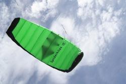 Amigo 1.75 green, with hand straps