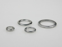 Aluminium rings 6mm