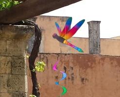 Dragonfly Twist Natural Rainbow