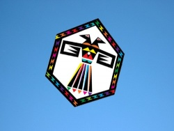 Rokkaku Eagle of Paradox rainbow