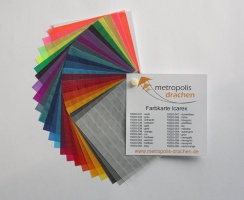 "Colour sample card ""Icarex PC31"""