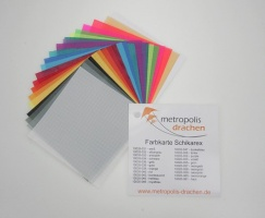 "Colour sample card ""Schikarex"""
