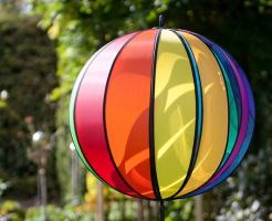 Spinning Ball Satørn rainbow