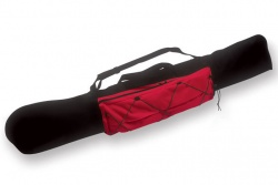 Carryall Kite Bag 112cm, red-black