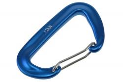 Snap hook 47x80mm 12kn blue