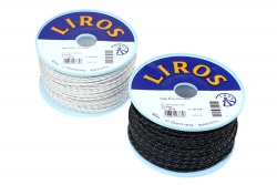 Liros Magic Race 2,5mm white, per meter