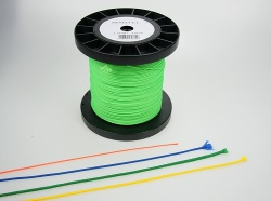 Sleeving line 1,5mm fluor green
