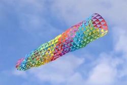 Mesh spinning tube