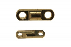 Brass ball bearing swivel small