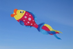 Polka Dot Parrot Fish Windsock