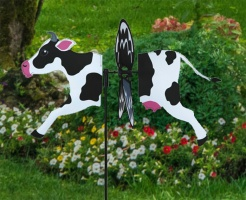 Petite windmill cow