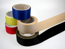Spi.-repair tape black, p.m.