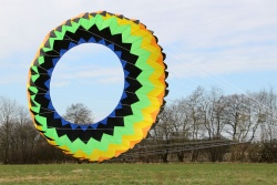 Ring Kite 6m yellow-green