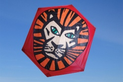 Rokkaku Kite Lion