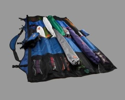 Prism Roll-up-bag blue