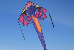 Large Easy Flyer Saphire Dragon