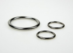 Stainless steel ring 8mm