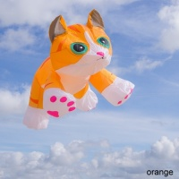 Tabby Kitten orange | 4ft.