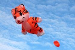 Small Tiger Kite orange