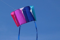 Windfoil Kites blue/purple