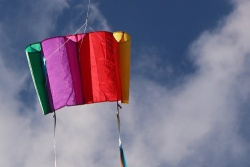 Windfoil Kites rainbow