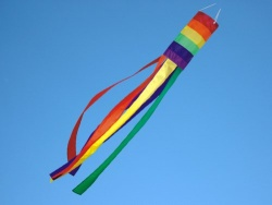 Windsock rainbow L