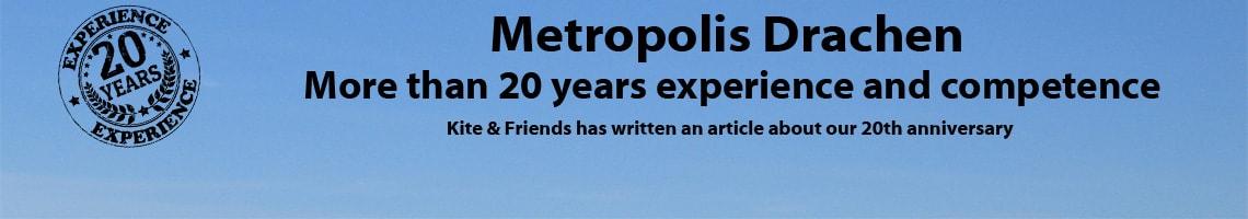 20 years Metropolis