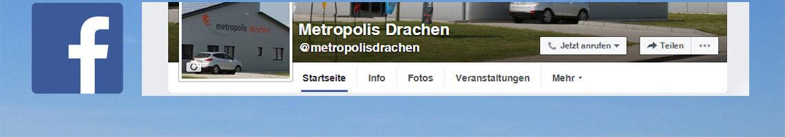 Metropolis ist auch auf Facebook